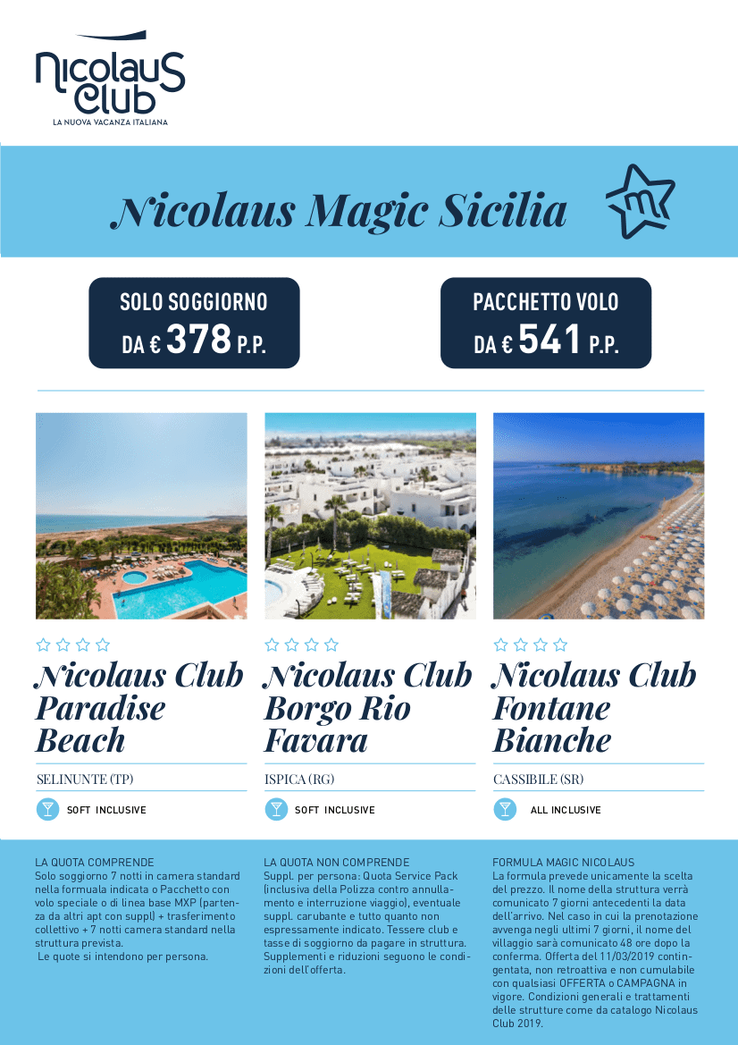 Nicolaus is magic sicilia