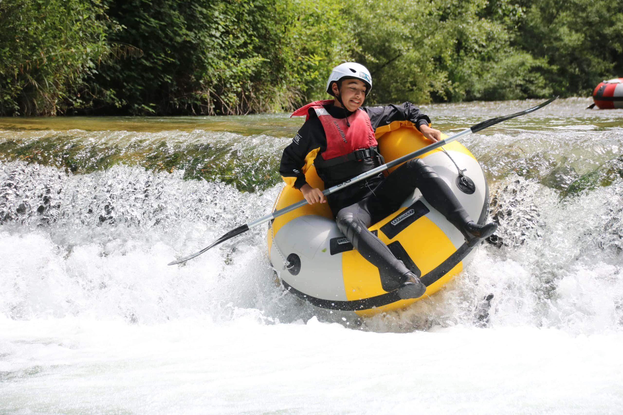 River Tubing sul fiume lao